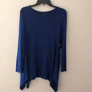 a.n.a Top For Women Size S blue Black New
